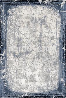 Dizayn Halı - 0055A-MAVİ